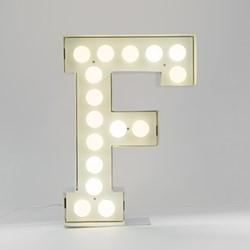 Vegaz F Letter light, H60cm