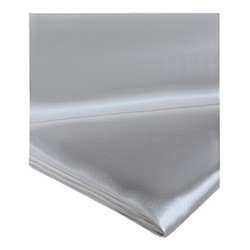 Signature King size flat sheet, 280 x 310cm, silver grey