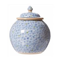 Lawn Cookie jar, H22.9 x W10.8cm, light blue