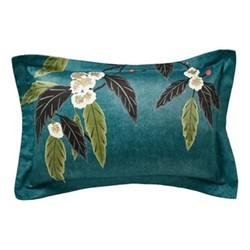 Coppice Oxford pillowcase, peacock