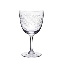 Fern Set of 6 wine glasses, H12.2cm, clear