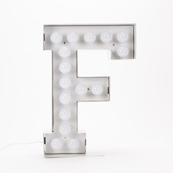 Vegaz F Letter light, H60cm