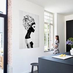 Graphic - Marianna Wall decoration, 80 x 100cm