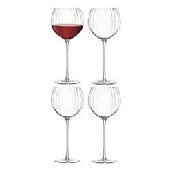 Aurelia Set of 4 balloon wine glasses, 570ml, clear