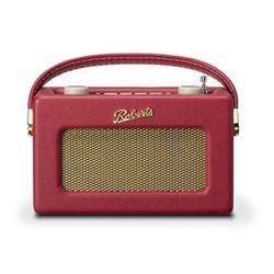 Revival Uno DAB/DAB+/FM digital radio with alarm, H14 x W21 x D9cm, berry red
