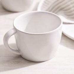 Portobello Mug, H8 x Dia10.5cm, white