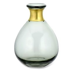 Miza Medium vase, H14 x Dia11cm, smoke