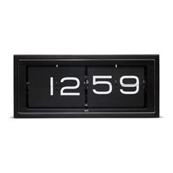Brick Wall or desk clock, L36 x W12.8 x H15.7cm, black