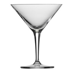 Basic Bar Set of 6 martini glasses, 175ml, crystal clear