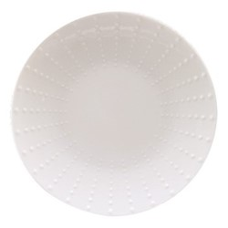 Sania Set of 6 dessert plates, 21.5cm, white