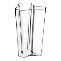 Alvar Aalto Vase, 25.1cm, clear