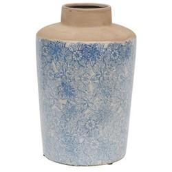 Thursfield Tall vase, H31 x Dia21cm, flax blue