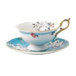 Wonderlust - Blossom Teacup and saucer, 15cl, apple