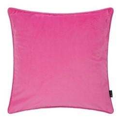 Velvet cushion, W45 x L45cm, candy