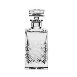 Tartan Square spirit decanter, 75cl