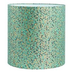 Garland Lampshade, 36 x 36cm, verdigris/mint