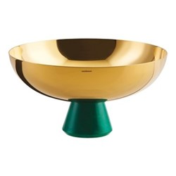 Madame Footed bowl, Dia20.5 x H11cm, gold