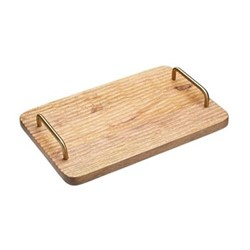 Cheese serving board, L36 x W23 x H6cm, mango wood