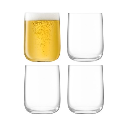 Borough Set of 4 glasses, 625ml, clear