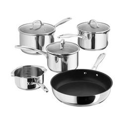 7000 5 piece draining saucepan set, 14-26cm, stainless steel