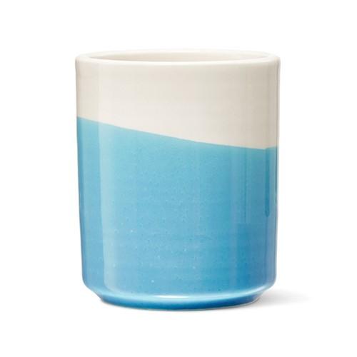Colour Dip Very useful little pot, H9cm, Blue