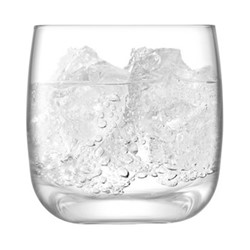Borough Set of 4 tumblers, 300ml, clear