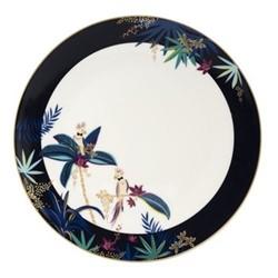 Tahiti - Cockatoo Round platter, 30.5cm, navy