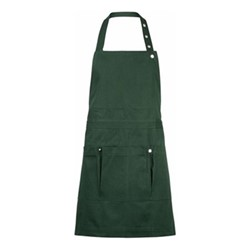 Canvas Creative and garden apron, 100 x 74cm, dark green