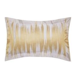 Motion Oxford pillowcase, L48 x W74cm, ochre