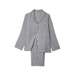Pyjama trouser set - small, midnight stripe