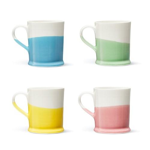 Colour Dip Mug, H10cm, Multi