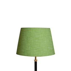 Straight Empire Lampshade, 30cm, apple chambray