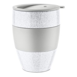 To Go Insulated travel cup with lid, 40cl, organic grey
