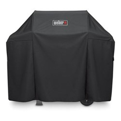 Grill cover premium spirit II 300 - fits spirit II 300 & spirit EO-210/220 & all 300 series, H106.68 x W45.21 x D129.54cm, black