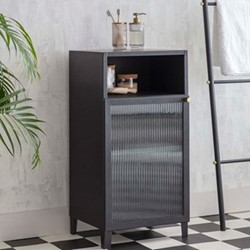 Adelphi Cabinet, H85 x W42 x D35cm, Black