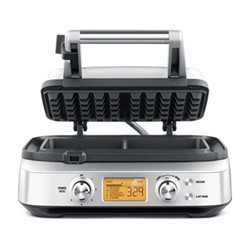 The Smart Waffle Pro Waffle maker, W29 x D30 x H14cm, stainless steel