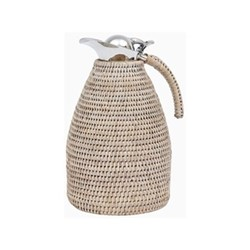 Ashcroft Small jug, H26.5 x W16 x D16cm, silver reed