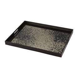 Heavy Aged Mirror tray, W61 x H46 x D5cm, bronze