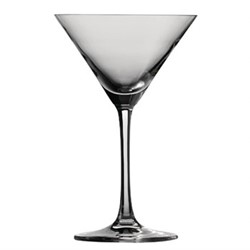 Bar Special Pack of 6 martini glasses, 16.6cl, crystal