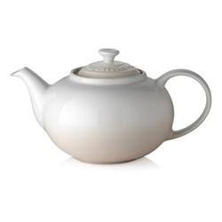 Stoneware Teapot, 1.3 litre, meringue