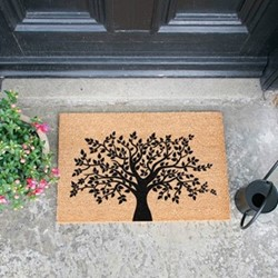 Tree of Life Doormat, L60 x W40 x H1.5cm