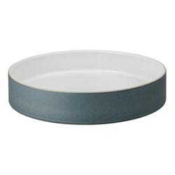 Impression Charcoal Straight round tray, 23 x 5cm, black