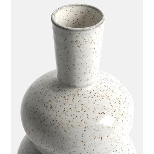 Emile Vase, H23 x W12 x D12cm, beige/natural