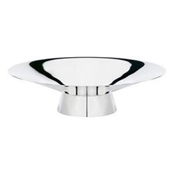 Crazy Bowl, W23 x H6cm, silver plate