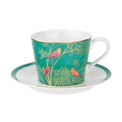 Chelsea Collection Teacup and saucer, 20cl, green