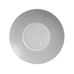 Hemisphere Dessert plate, Dia21cm, grey metallic