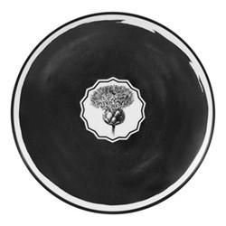 Herbariae Dessert plate, 23cm, black