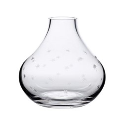 Stars Vase, 11.2 x 11cm, Crystal