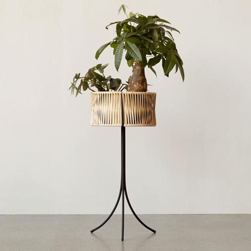 Umanoff Large planter, H69 x L36.5cm, Bamboo