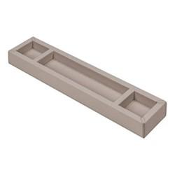 Trebic Desk tidy, 35.5 x 8cm, stone